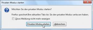 Private Modus 1/3