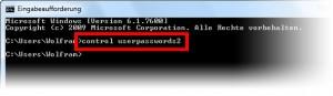 Windows ohne Passwort 1/3