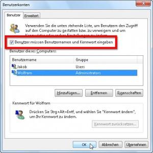 Windows ohne Passwort 2/3