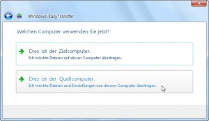 Windows Easy Transfer 04/15
