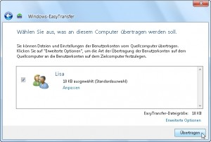 Windows Easy Transfer 13/15