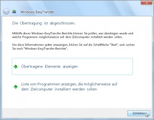 Windows Easy Transfer 15/15