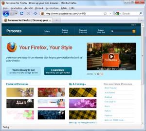 Firefox-Personas 1/4