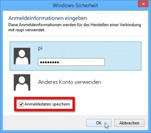 Vom Windows-PC per Remotedesktop den Raspberry Pi-Desktop