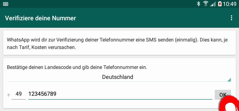 whatsapp auf tablet und handy