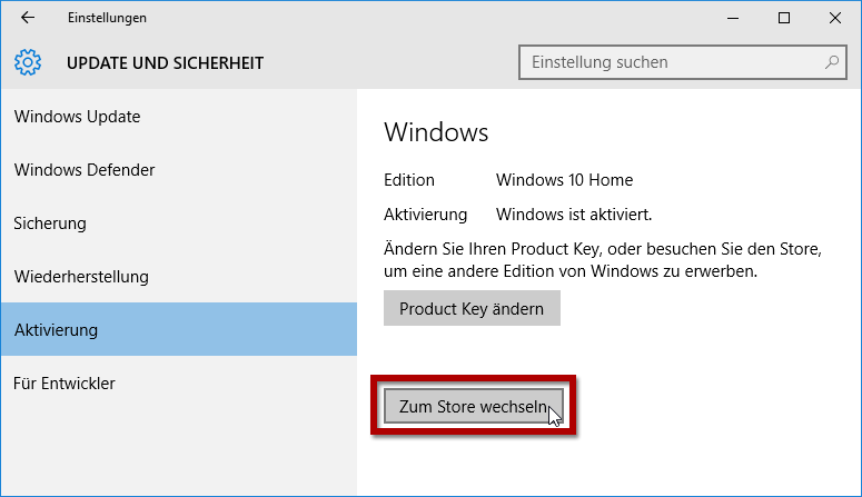 hallo windows aktivieren