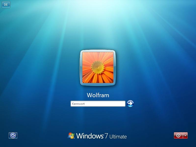 Hintergrund startbildschirm windows 7 andern