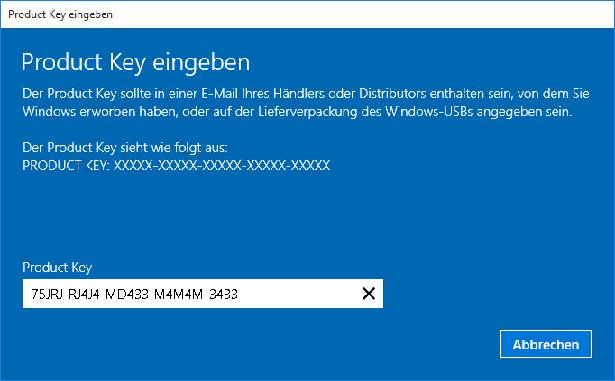windows 10 pro keys